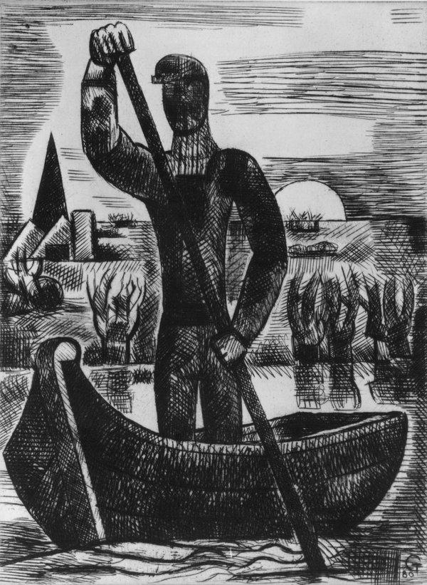 Le Passeur by Marcel Gromaire