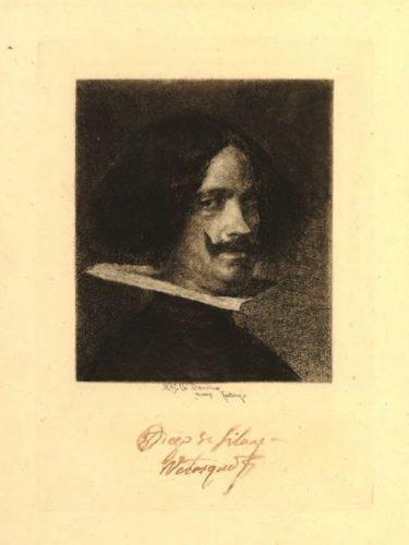 Retrato De Velázquez by Mariano Fortuny y Marsal
