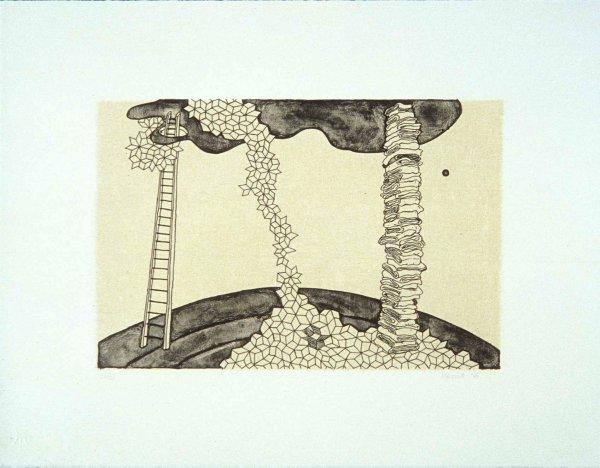 Three Ladders by Marie Watt