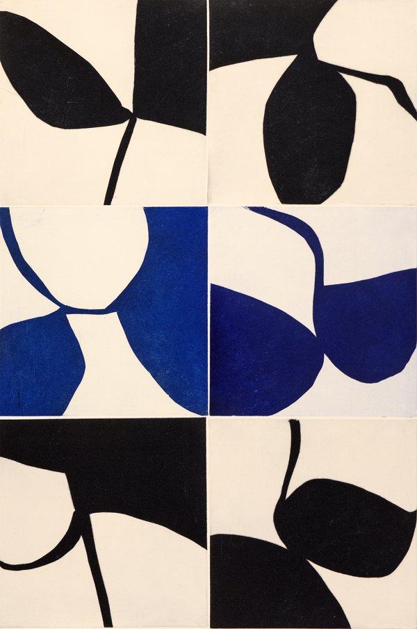 New Alphabet 37 by Marina Adams