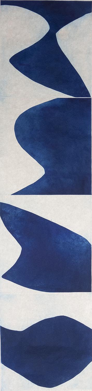 Prussian Blue 2 by Marina Adams