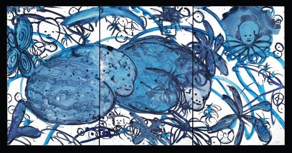 Lulu Blue 27 by Mark Cooper