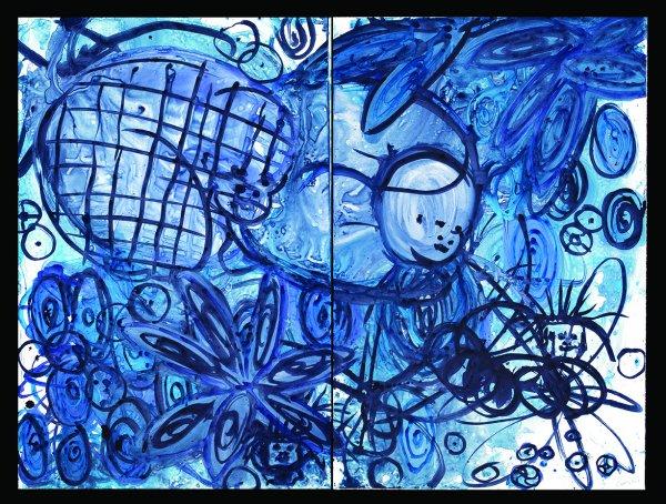 Lulu Blue 23 by Mark Cooper