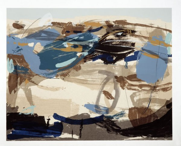 Blue Light Over Land by Mark Johnston