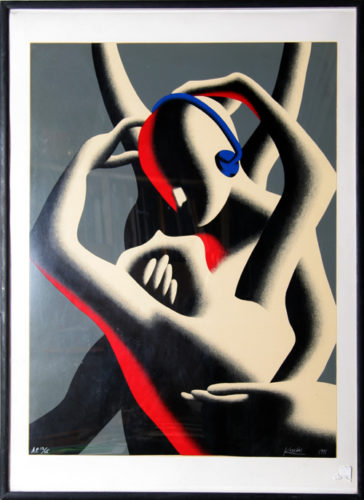 Love In Stereo by Mark Kostabi