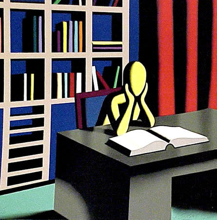 Useless Knowledge by Mark Kostabi