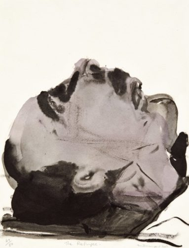 The Refugee by Marlene Dumas