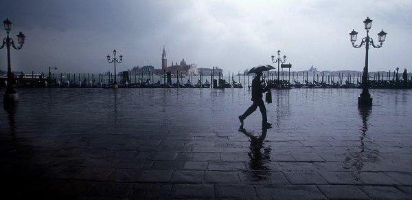 Venice Rain by Martin Brent