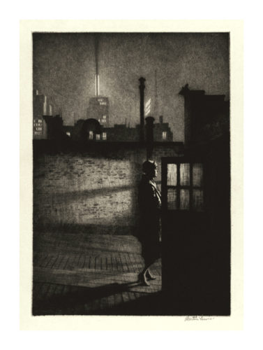 Little Penthouse by Martin Lewis at Harris Schrank Fine Prints (IFPDA)