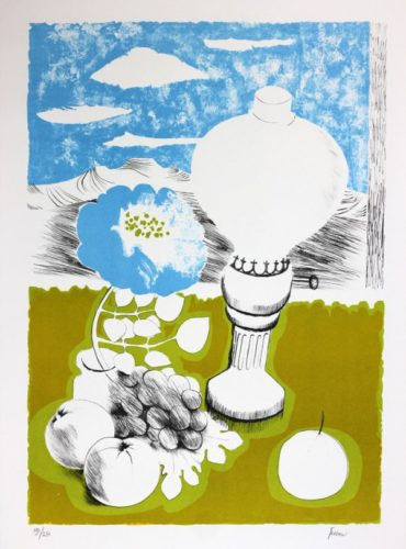 The Lamp by Mary Fedden