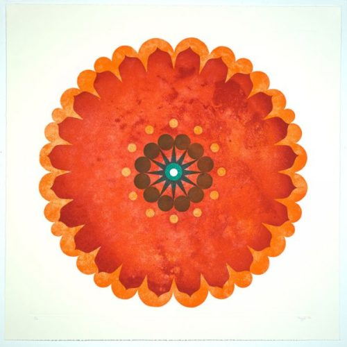 Untitled (rondel Tint) by Mary Judge at