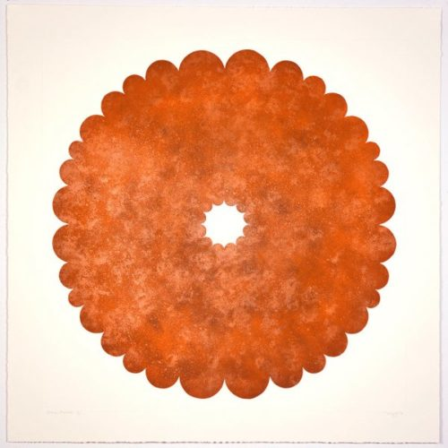 Untitled (mondus Rust) by Mary Judge at