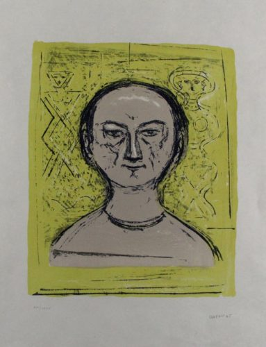 Selbstbildnis / Self-portrait by Massimo Campigli at