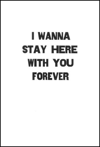 I Wanna Stay Here With You Forever by Matt Neff
