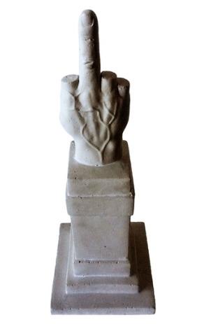 Love Souvenir Di Milano by Maurizio Cattelan
