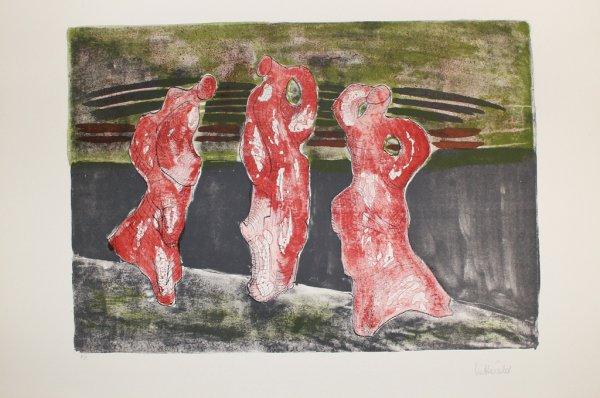 Drei Figuren by Max Herold