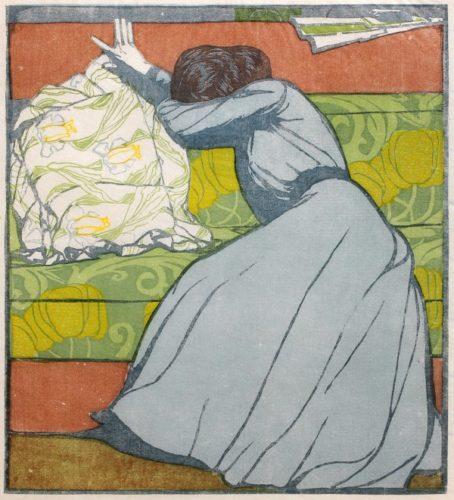 Der Polster (the Pillow) by Max Kurzweil