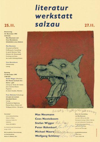 Literatur Werkstatt Salzau by Max Neumann