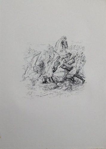 Die Schlacht Bei Kunaxa by Max Slevogt at Sylvan Cole Gallery