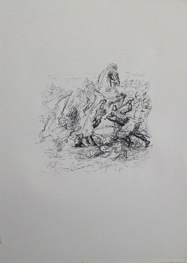 Die Schlacht Bei Kunaxa by Max Slevogt