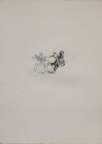 Die Feindlichen Brüder by Max Slevogt at Sylvan Cole Gallery