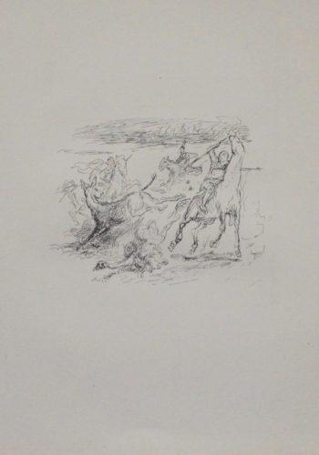 Jagd Der Hellenischen Soldaten by Max Slevogt at