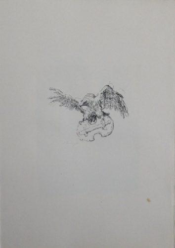 """Schlussvignette """"die Tapferen Zehntausend"""" by Max Slevogt at Sylvan Cole Gallery"""