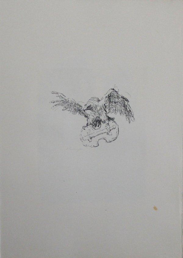 """Schlussvignette """"die Tapferen Zehntausend"""" by Max Slevogt"""