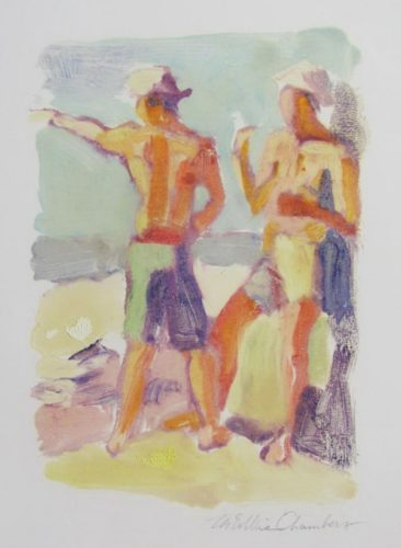 Beach Day by McWillie Chambers