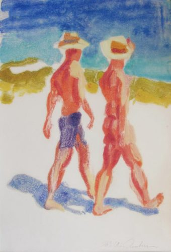 Men Walking by McWillie Chambers