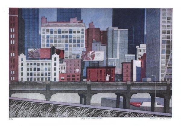 West Side, Manhattan by Michael Arike