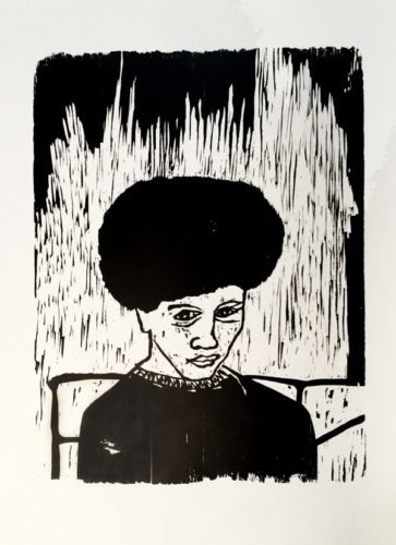 Self-portrait '73 by Michael Kelly Williams