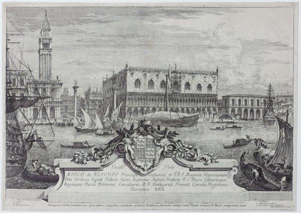 Il Bacino De San Marco by Michele Marieschi