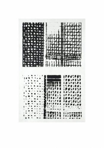 Marraige-á-la-mode (window) by Michelle Grabner