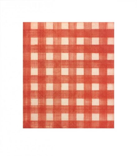 Warm Red Gingham by Michelle Grabner
