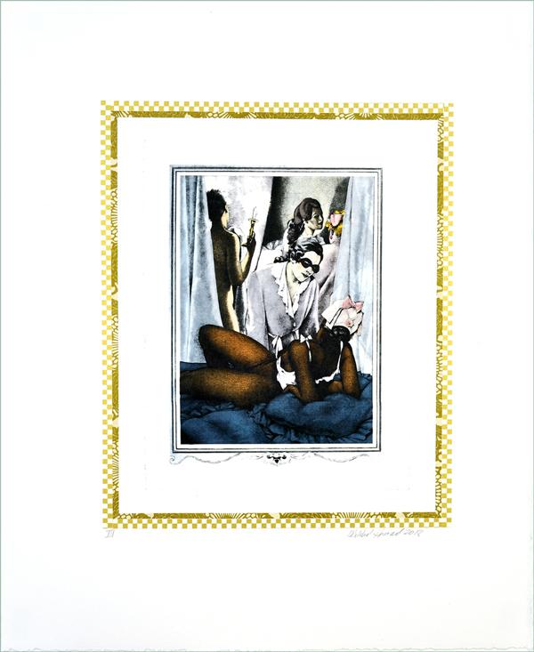 """""""incontro Con Casanova: Il Potere Dell'altro #iii"""" by Mildred Howard"""