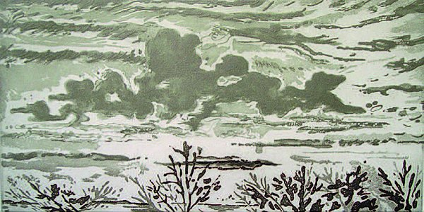 Squall Coming by Mimi Gross at