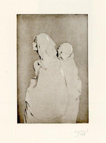 Dona I Monjo by Montserrat Gudiol