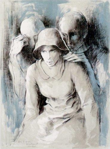 Figures A L'ombra by Montserrat Gudiol