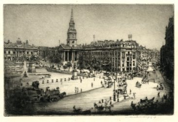 London – St Martin-in-the-fields by Mortimer Luddington Menpes at Editions Graphiques Ltd