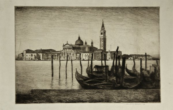 San Giorgio Maggiore by Mortimer Luddington Menpes
