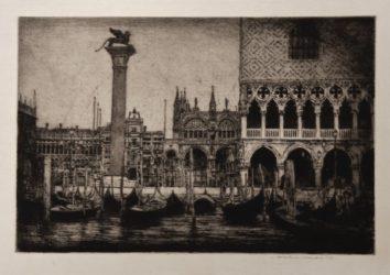 Venice – Piazza San Marco by Mortimer Luddington Menpes at Editions Graphiques Ltd