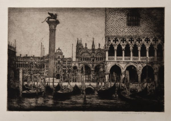 Venice – Piazza San Marco by Mortimer Luddington Menpes