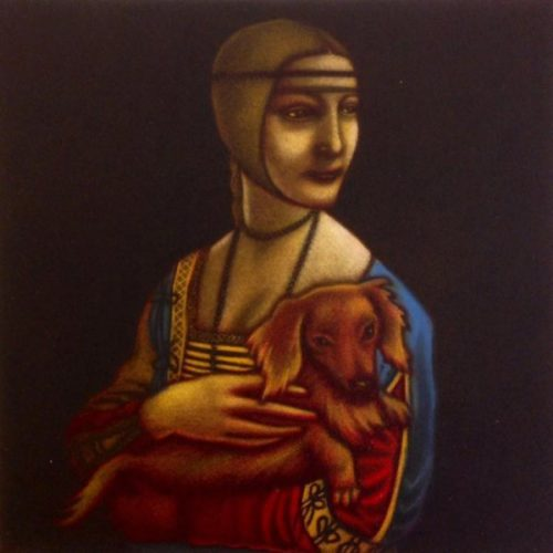 Leonardo Da Vinci's Dog by Mychael Barratt