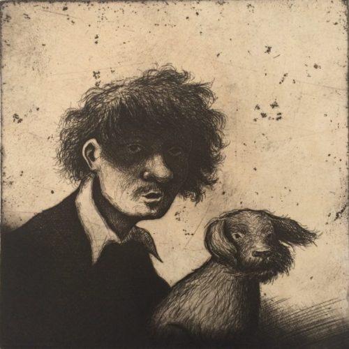 Rembrandt's Dog Ii by Mychael Barratt