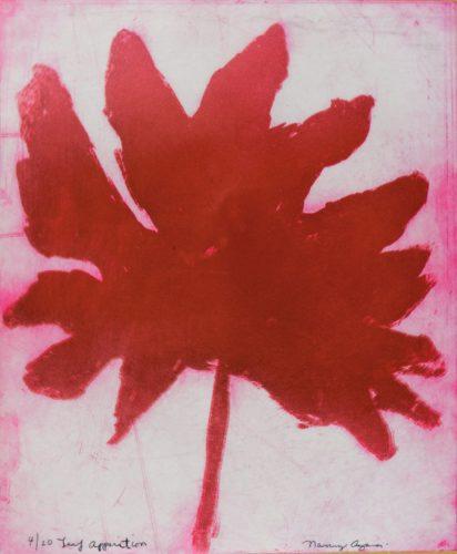 Leaf Apparition by Nancy Azara at