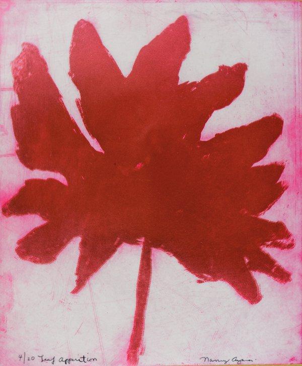Leaf Apparition by Nancy Azara
