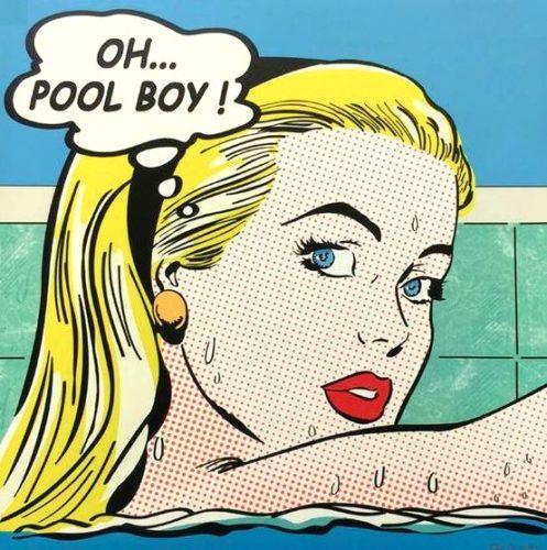 Poolboy by Nelson De La Nuez