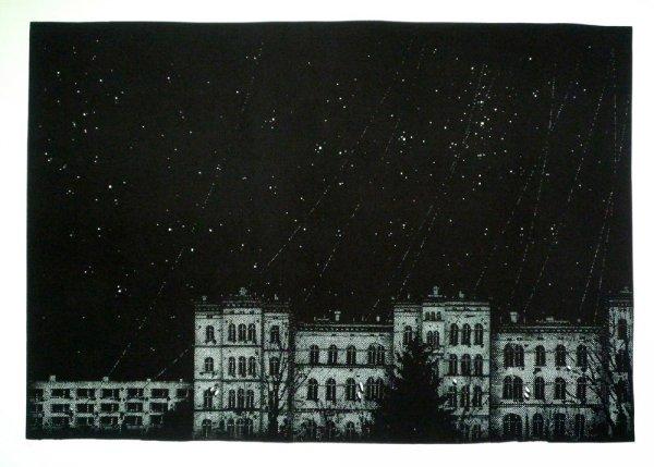 Nocturne-city-stars by Nicolas Poignon