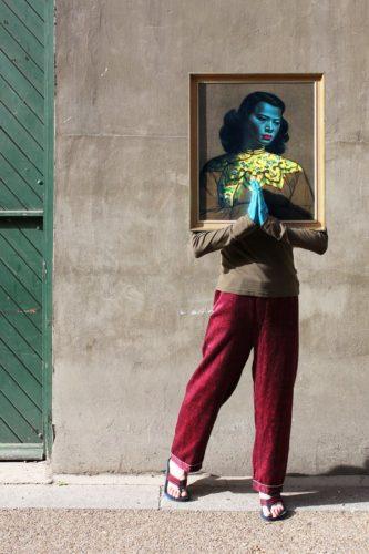 Art Drag Album (nigel As The Chinese Girl) by Nigel Grimmer